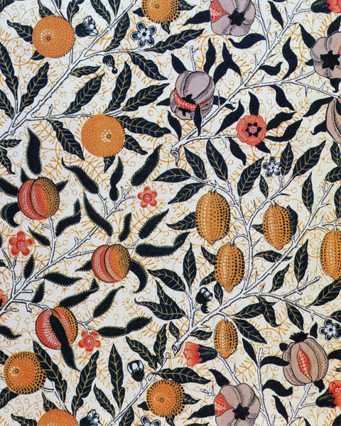 Wall Art - Painting - Pomegranate - Digital Remastered Edition by William Morris