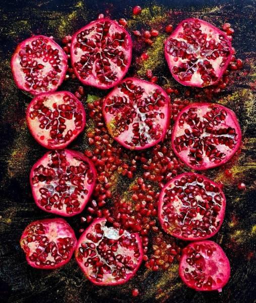 Pomegranate New Year Art Print