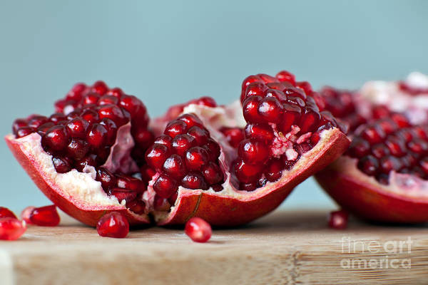Organic Wall Art - Photograph - Pomegranate by Orlio