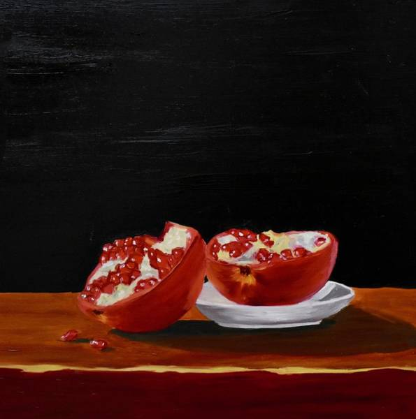 Painting - Pomegranite by Emily Warren