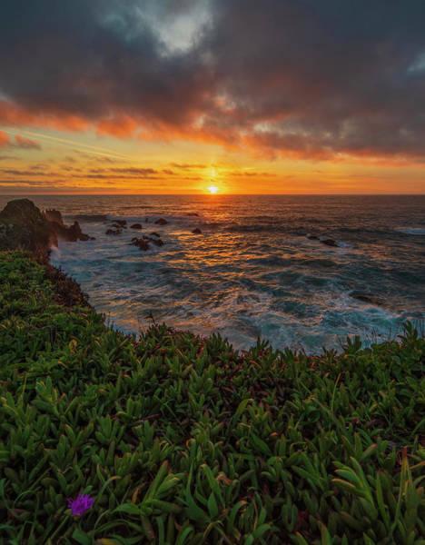 Photograph - Pomo Bluffs Sunset - 2 by Jonathan Hansen