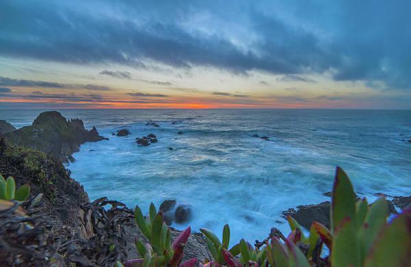 Photograph - Pomo Bluffs Sunset - 3 by Jonathan Hansen