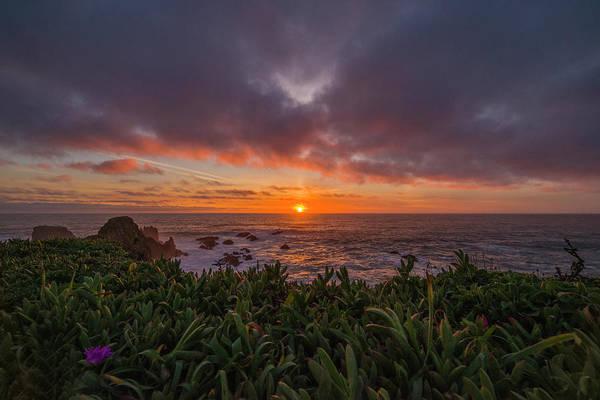 Photograph - Pomo Bluffs Sunset by Jonathan Hansen