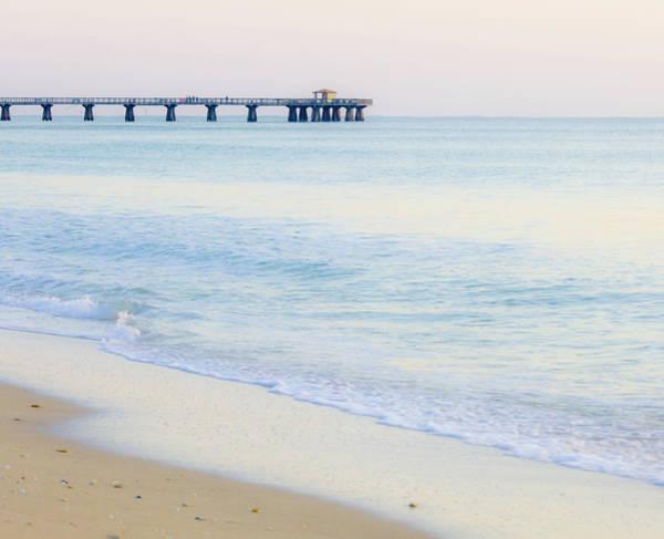 Pier Photograph - Pompano Beach, Florida by David Madison