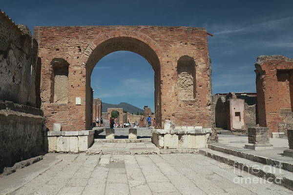 Photograph - Pompeii 3 by Peter Skelton