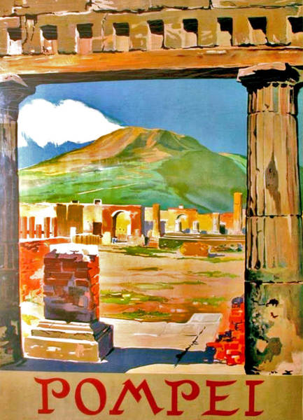 Wall Art - Digital Art - Pompeii by Long Shot