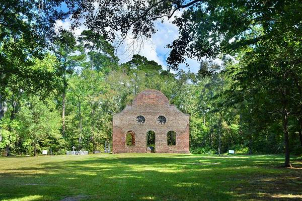 Photograph - Pon Pon Chapel Of Ease Jacksonboro South Carolina 4 by Lisa Wooten