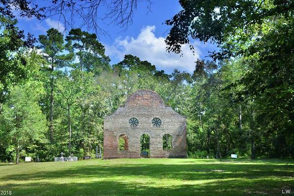 Photograph - Pon Pon Chapel Of Ease Jacksonboro South Carolina by Lisa Wooten