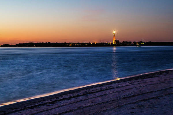 Photograph - Ponce Lighthouse At Sunset by Fred DeSousa