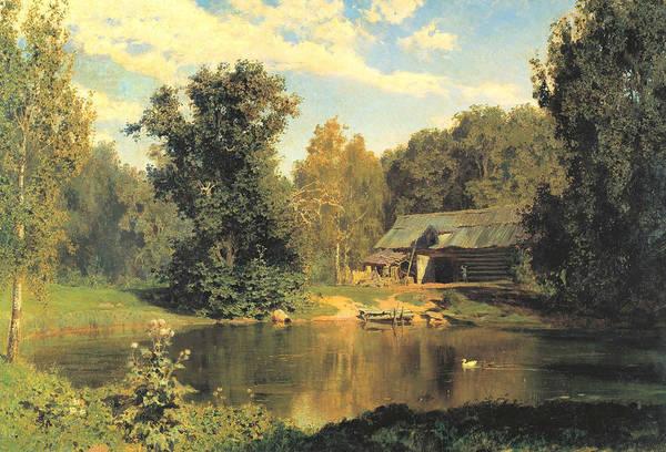 Painting - Pond In Abramtsevo by Vasily Polenov