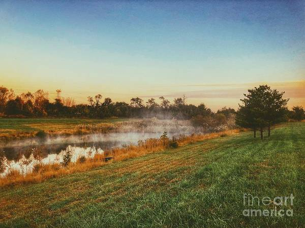 Photograph - Pond In Fall by Jon Munson II