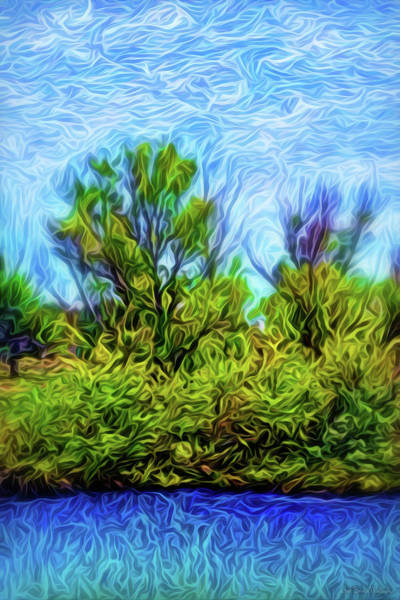 Wall Art - Digital Art - Pond Mist Moments by Joel Bruce Wallach