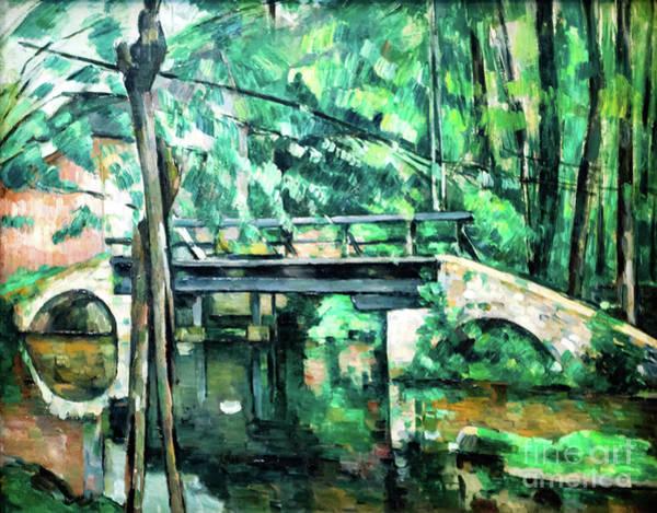 Painting - Pont De Maincy by Paul Cezanne