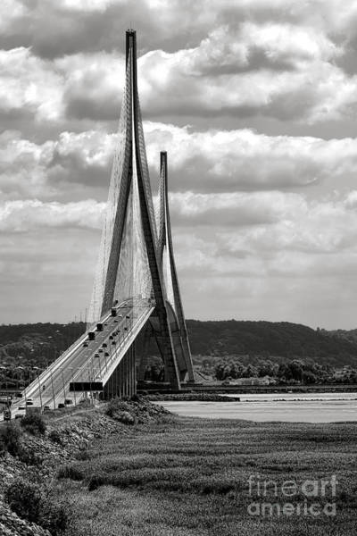 Wall Art - Photograph - Pont De Normandie by Olivier Le Queinec
