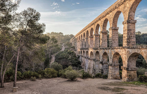 Wall Art - Photograph - Pont Del Diable, Ferreres Aqueduct In Tarragona by Marc Garrido