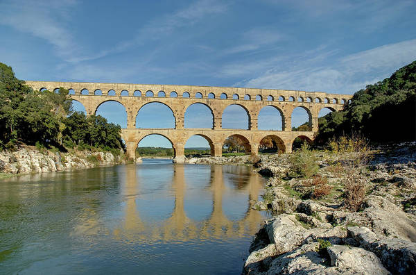 French Riviera Photograph - Pont Du Gard, France by David Min