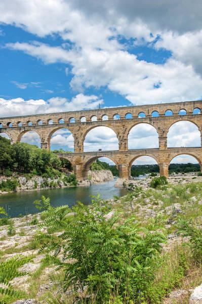 Wall Art - Photograph - Pont Du Gard, France by Lisa S. Engelbrecht