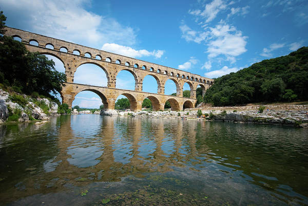 June Photograph - Pont Du Gard, Provence, France by Mmac72