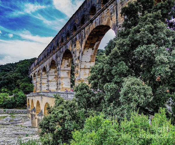 Photograph - Pont Du Gard by Thomas Marchessault