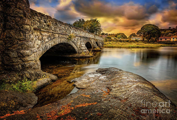 Wall Art - Photograph - Pont Pen-y-llyn Bridge Snowdonia by Adrian Evans