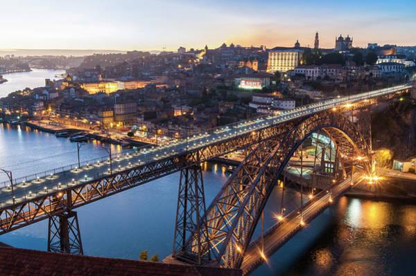 Douro Wall Art - Photograph - Ponte Dom Luis I, Porto, Portugal by John Harper