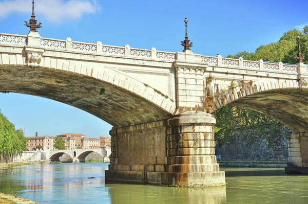 Photograph - Ponte Giuseppe Mazzini by JAMART Photography