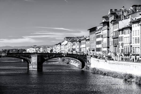 Photograph - Ponte Santa Trinita View In Florence by John Rizzuto
