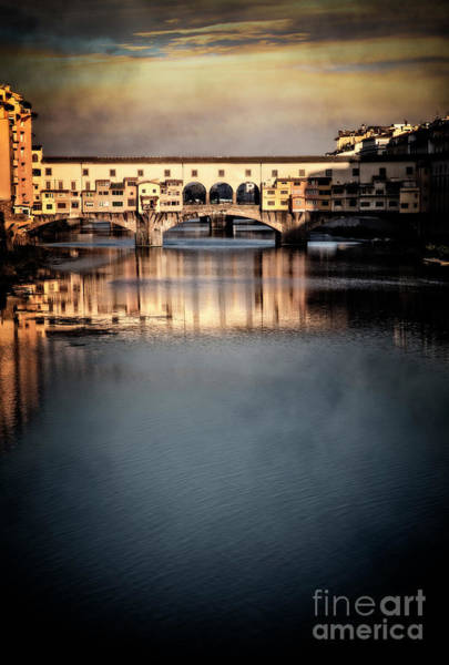 Photograph - Ponte Vecchio Bridge by Scott Kemper