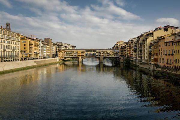 Wall Art - Photograph - Ponte Vecchio by Dave Bowman