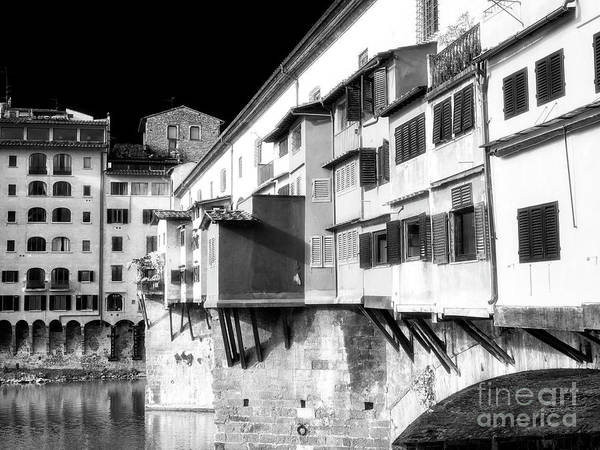 Photograph - Ponte Vecchio Style In Florence by John Rizzuto