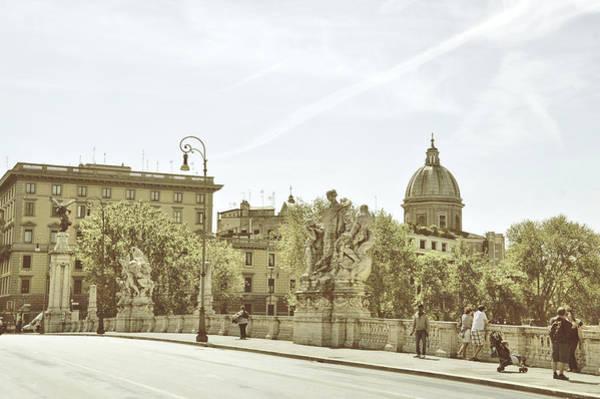 Photograph - Ponte Vittorio Emanuele II Crossing by JAMART Photography