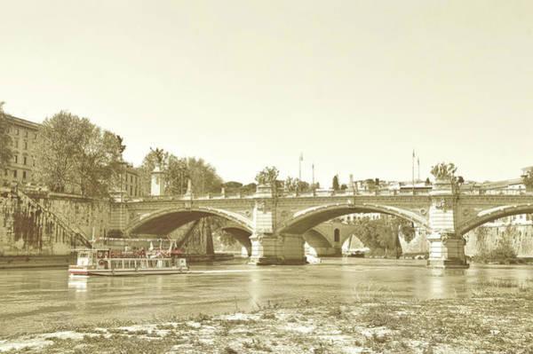 Photograph - Ponte Vittorio Emanuele II by JAMART Photography