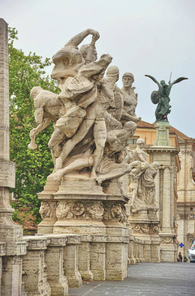 Photograph - Ponte Vittorio Emanuele II Sculpture by JAMART Photography