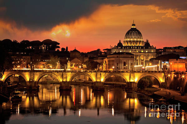 Photograph - Ponte Vittorio by Scott Kemper