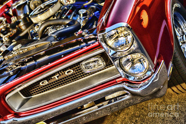 Wall Art - Photograph - Pontiac Gto American Muscle Car by Paul Ward