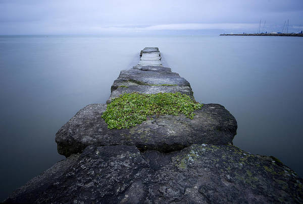 Lakeshore Photograph - Ponton De Pierre by Olivier Rapin Photographie