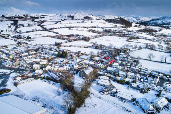 Photograph - Pontrhydfendigaid Wales In The Snow by Keith Morris
