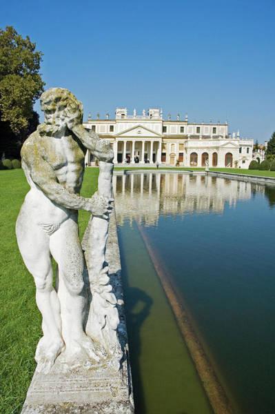 Toughness Photograph - Pool Of Villa Pisani By Architect by Roberto Gerometta