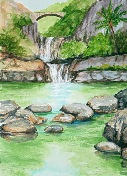 Painting - Pools Of Oheo by Darice Machel McGuire