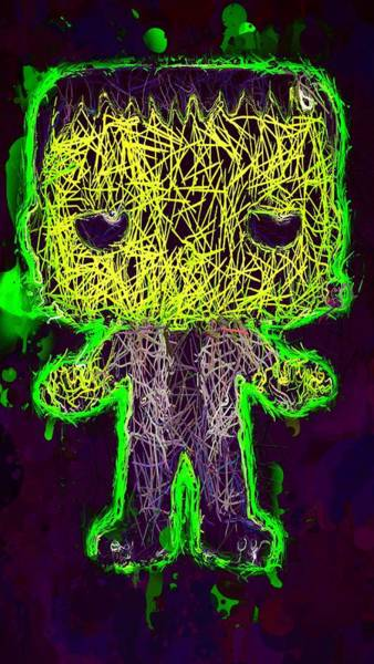 Mixed Media - Frankenstein Pop 2 by Al Matra