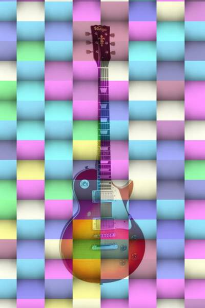 Digital Art - pOP Guitar by Alberto RuiZ