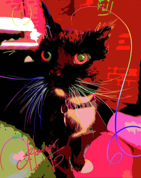 Painting - pOpCat Chili by DC Langer