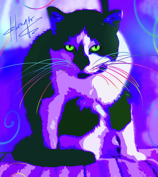 Painting - pOpCat Ming Ming by DC Langer