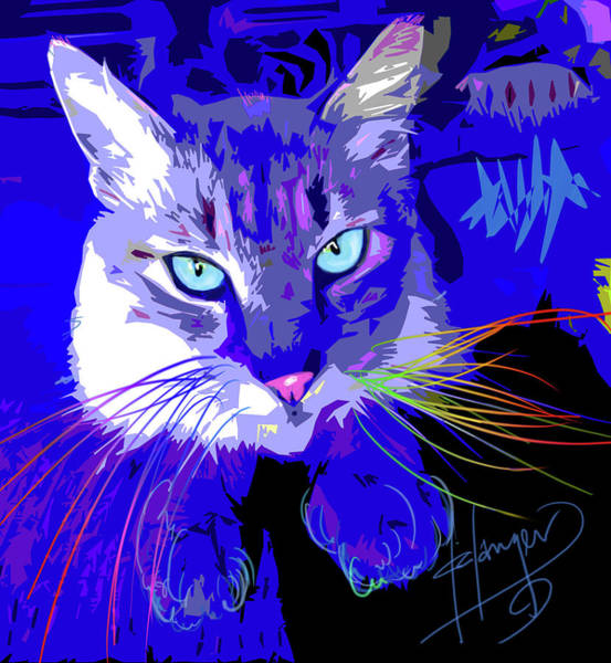 Painting - pOpCat Timmy by DC Langer