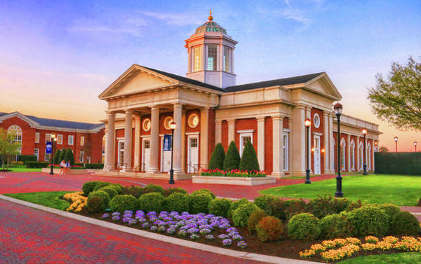 Photograph - Pope Chapel At Cnu  by Ola Allen