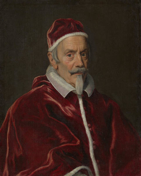 Painting - Pope Clement X by Giovanni Battista Gaulli