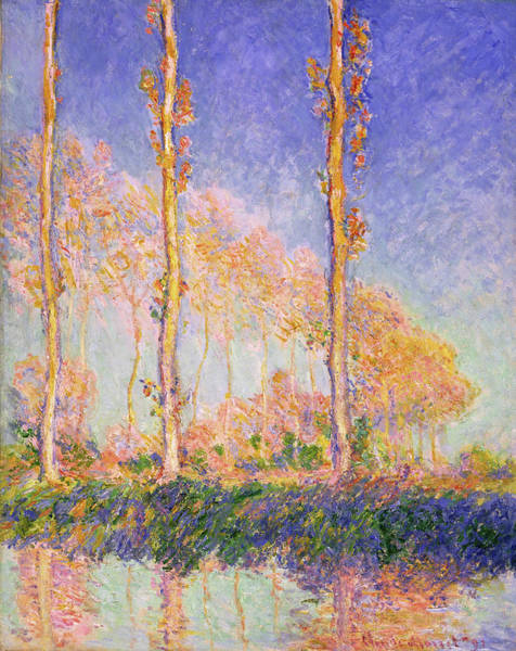 Poplar Painting - Poplars - Digital Remastered Edition by Claude Monet