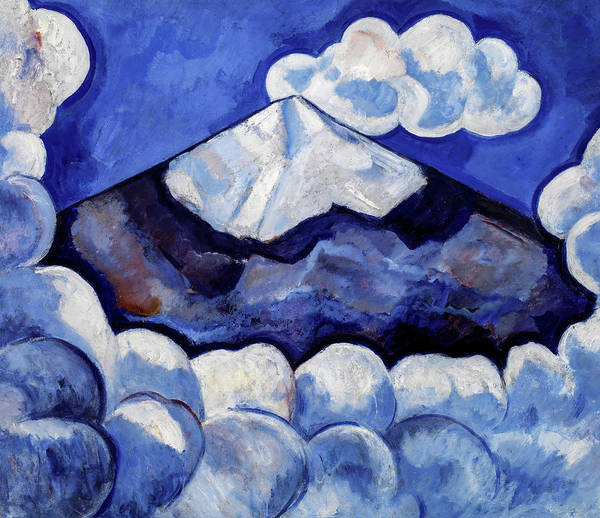 Wall Art - Painting - Popocatepetl, Spirited Morning, Mexico, 1932 by Marsden Hartley