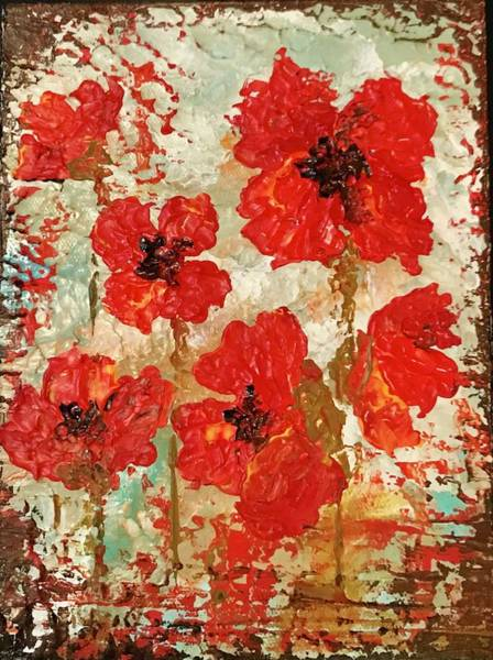 Painting - Poppies by Elizabeth Mundaden