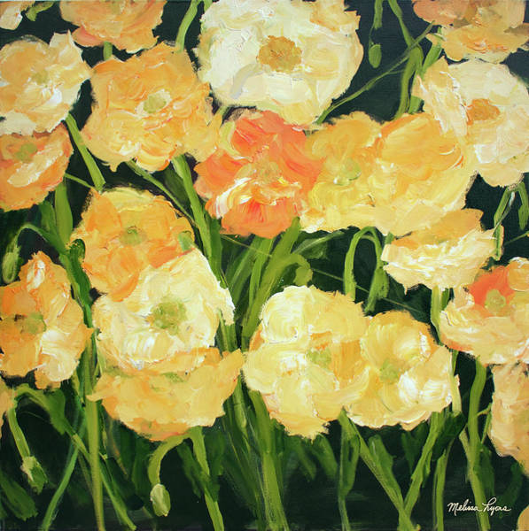 Wall Art - Painting - Poppies by Melissa Lyons